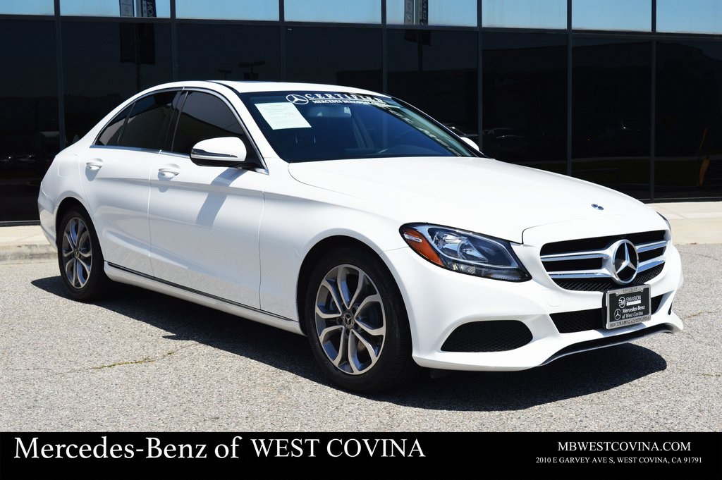 Certified Pre-Owned 2018 Mercedes-Benz C 300 RWD